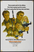 "Movie Posters:War, Where Eagles Dare (MGM, 1968). One Sheet (27"" X 41"") Style C.War...."