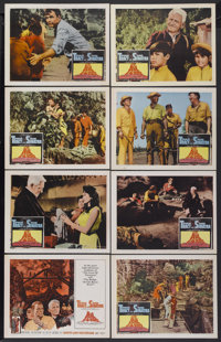 """The Devil at 4 O'Clock (Columbia, 1961). Lobby Card Set of 8 (11"""" X 14""""). Adventure.... (Total: 8 Items)"""