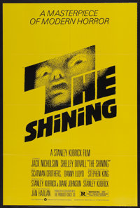 """The Shining (Warner Brothers, 1980). One Sheet (27"""" X 41""""). Horror"""