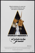 "Movie Posters:Science Fiction, A Clockwork Orange (Warner Brothers, 1972). One Sheet (27"" X 41"").Science Fiction...."