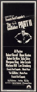 "Movie Posters:Academy Award Winner, The Godfather Part II (Paramount, 1974). Insert (14"" X 36"").Academy Award Winner...."