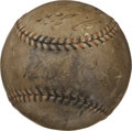 Autographs:Baseballs, 1934 Tour of Japan Team Signed Baseball with Ruth, Foxx. The starsof Our National Pastime embarked on a tour of the far ea...