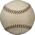 Baseball Collectibles:Others, 1930's Official American League Baseball. The even toning on theoffered Official American League (Johnson) baseball has tu...