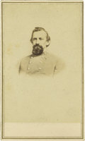 Photography:CDVs, Carte de Visite of Confederate Brigadier General Arthur Jefferson Vaughan....