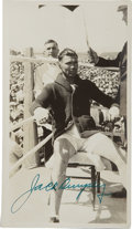 Boxing Collectibles:Autographs, 1923 Jack Dempsey Fight Photographs, 1 Signed. Group of 20 candidphotos of the Prize Fight between Jack Dempsey and Mike Gi...