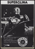 "Movie Posters:Action, RoboCop (Orion, 1987). Polish One Sheet (26.5"" X 38""). Action...."