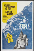 "Movie Posters:Science Fiction, The Slime People (Hansen Enterprise, 1963). One Sheet (27"" X 41"").Science Fiction...."