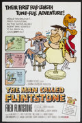 "Movie Posters:Animated, The Man Called Flintstone (Columbia, 1966). One Sheet (27"" X 41"").Animated...."