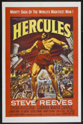 "Movie Posters:Adventure, Hercules (Warner Brothers, 1959). One Sheet (27"" X 41""). Adventure...."