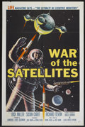 """Movie Posters:Science Fiction, War of the Satellites (Allied Artists, 1958). One Sheet (27"""" X41""""). Science Fiction...."""