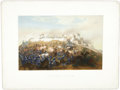 "Antiques:Posters & Prints, [Mexican War] ""Storming of Chapultepec - Pillow's Attack"", ..."