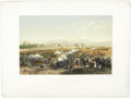 "Antiques:Posters & Prints, [Mexican War] ""Molino del Rey - Attack Upon the Molino"", ..."