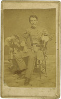 Photography:CDVs, Carte de Visite of Confederate General M. Jeff Thompson....