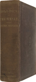 Books:First Editions, Herman Melville. Moby-Dick; or, The Whale. New York: Harper & Brothers, 1851....
