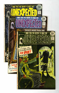 Bronze Age (1970-1979):Horror, Unexpected Group (DC, 1971-74) Condition: Average VF/NM.... (Total:25 Comic Books)
