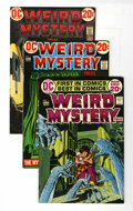 Bronze Age (1970-1979):Horror, Weird Mystery Tales Group (DC, 1972-75) Condition: AverageVF/NM.... (Total: 14 Comic Books)