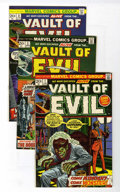 Bronze Age (1970-1979):Horror, Vault of Evil Group (Marvel, 1973-75) Condition: Average VF/NM....(Total: 15 Comic Books)