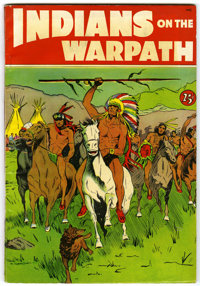Indians on the Warpath #nn (St. John, 1951) Condition: FN-