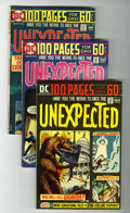 Bronze Age (1970-1979):Horror, Unexpected Group (DC, 1974-80) Condition: Average VF/NM.... (Total:31 Comic Books)
