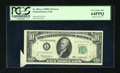 Error Notes:Attached Tabs, Fr. 2014-A $10 1950D Federal Reserve Note. PCGS Very Choice New64PPQ.. ...