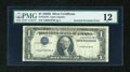 Error Notes:Inverted Third Printings, Fr. 1613N $1 1935D Silver Certificate. PMG Fine 12.. ...