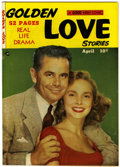 Golden Age (1938-1955):Romance, Golden Love Stories #4 (Kirby Publishing, 1950) Condition: VF....