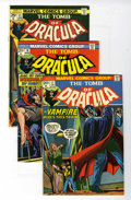 Bronze Age (1970-1979):Horror, Tomb of Dracula Group (Marvel, 1974-78) Condition: Average NM-....(Total: 18 Comic Books)