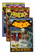 Bronze Age (1970-1979):Horror, Tomb of Dracula #2-9 Group (Marvel, 1972-73) Condition: AverageVF.... (Total: 8 Comic Books)