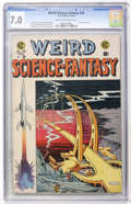 Golden Age (1938-1955):Science Fiction, Weird Science-Fantasy #28 (EC, 1955) CGC FN/VF 7.0 Cream tooff-white pages....