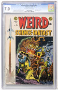 Golden Age (1938-1955):Science Fiction, Weird Science-Fantasy #27 (EC, 1955) CGC FN/VF 7.0 Off-white towhite pages....