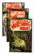 Silver Age (1956-1969):Horror, The Witching Hour Group (DC, 1969-70) Condition: Average VF/NM....(Total: 5 Comic Books)