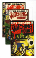 Silver Age (1956-1969):Horror, The Witching Hour Group (DC, 1969-70) Condition: Average VF+....(Total: 5 Comic Books)