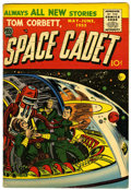 Golden Age (1938-1955):Science Fiction, Tom Corbett, Space Cadet V2#1 (Prize, 1955) Condition: FN-....