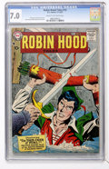 Silver Age (1956-1969):Adventure, Robin Hood Tales #12 (DC, 1957) CGC FN/VF 7.0 Cream to off-white pages....