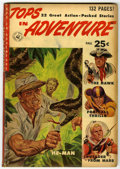 Golden Age (1938-1955):Adventure, Tops In Adventure #1 (Ziff-Davis, 1952) Condition: GD+ Brownpages....