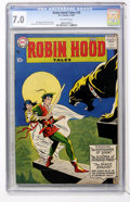 Silver Age (1956-1969):Adventure, Robin Hood Tales #10 (DC, 1957) CGC FN/VF 7.0 Off-white pages....