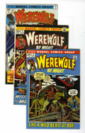 Bronze Age (1970-1979):Horror, Werewolf by Night Group (Marvel, 1972-76) Condition: AverageNM-.... (Total: 9 Comic Books)
