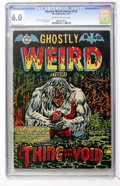 Golden Age (1938-1955):Horror, Ghostly Weird Stories #123 (Star, 1954) CGC FN 6.0 Cream tooff-white pages....
