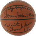 Basketball Collectibles:Balls, Los Angeles Lakers Hall of Famers Multi-Signed Basketball. Thepopularity of the Los Angeles Lakers is in large part due to...