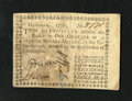 Colonial Notes:Georgia, Georgia 1776 $1/4 Very Fine. But for some minor strengthening of avertical fold, this is a well centered, attractive note. ...