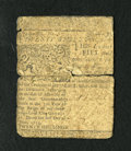 Colonial Notes:Delaware, Delaware June 1, 1759 20s Good. This is a scarce early Benjamin Franklin printed note with faded signatures and serial numbe...