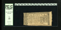 Maryland April 10, 1774 $2/3 PCGS Fine 15. The signatures on this note are bold