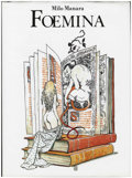 "Books:Signed Editions, Milo Manara - ""Foemina"" Signed, Limited Edition Hard Cover Book#589/1200 (Glittering Images, 1988).... (Total: 0)"