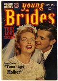 Golden Age (1938-1955):Romance, Young Brides #1 (Prize, 1952) Condition: VG+....