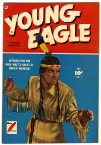 Young Eagle #1 (Fawcett, 1950) Condition: FN