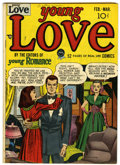 Golden Age (1938-1955):Romance, Young Love #1 (Prize, 1949) Condition: VG/FN....