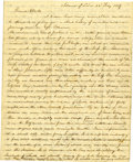 Autographs:Military Figures, [Mexican War] American Soldier's Letter. ...