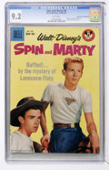 Silver Age (1956-1969):Adventure, Spin and Marty #8 Mile High pedigree (Dell, 1959) CGC NM- 9.2 White pages....