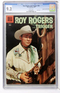 Silver Age (1956-1969):Western, Roy Rogers & Trigger #98 Mile High pedigree (Dell, 1956) CGC NM- 9.2 White pages....