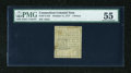 Colonial Notes:Connecticut, Connecticut October 11, 1777 4d Uncancelled PMG About Uncirculated 55....